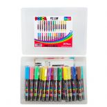 Posca PC-1M 1mm Extra Fine Markers Mega Pack